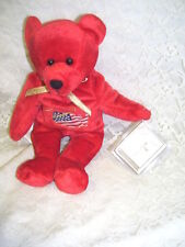 Patriotic Holy Bear with Holy Bible Tag 1999