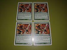 Wood Elves x4 - Ninth Edition 9th - Magic the Gathering MTG 4x
