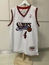 Mitchell And Ness NBA Chris Webber Sixers 76ers Basketball Singlet - Sz 54
