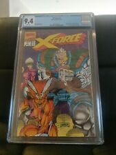 X-Force #1 1991 Marvel Comics 9.4 CGC White Pages