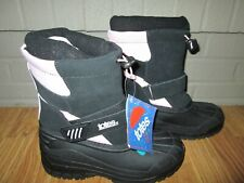 Girls TOTES waterproof insulated winter boots snow sz 4 NWT