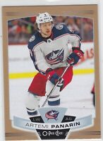 19/20 OPC..ARTEMI PANARIN..GOLD..SP..# 234..BLUE JACKETS..FREE COMBINED SHIPPING