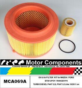 FILTER KIT MAZDA BT50 P4AT 2.2 Litre,Turbo 3.2L P5AT FORD RANGER PX 10/11 on