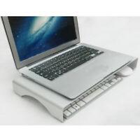 Aluminum Computer Desk Monitor Riser Stand Organizer For Laptop