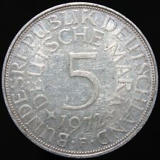 1972 F | Germany 5 Mark | Silver | Coins | KM Coins
