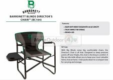BC104 NEW Barronett Blinds DIRECTORS CHAIR W/ TABLE Ground Blind Hunting Chair