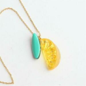 Kate Spade New York Tutti Frutti Lemon  Pendant Necklace