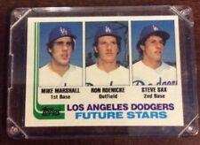 1982 Steve Sax Topps # 681 Los Angeles Dodgers ShopTradingCards.com MLB