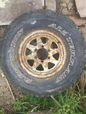 4x4 tyre Remington All terrain 31 x 10.50 R15LT and steel rim