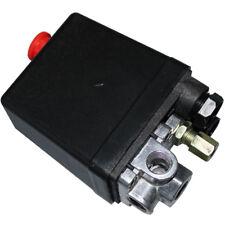 130-175PSI Air Pressure Switch Control Valve 4Port 240V 20A 1/4PT Shop 13006002