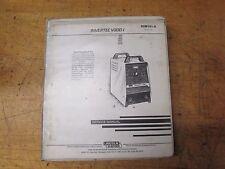 Lincoln Electric Invertec V300-1 Service Manual