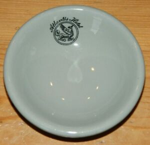 """1930's/40's 4"""" Butter Pat Dip Bowl ~Dudson Brothers Hotel China ~Atlantis Hotel"""