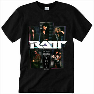 Ratt Invasion Of Your Privacy World Tour Hard Rock t Shirt Size S-3XL