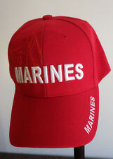 M.T.C. Metro Town Red United States Marines Ball Hat Mens Nwot One Size Fits All