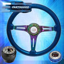 Gold Quick Release Hub For 90-97 Miata Godsnow Black Yellow Steering Wheel