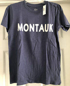 New J Crew Womens Montauk T Shirt NWT sz S