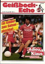 BL 86/87 1. FC Köln - Borussia Mönchengladbach, 13.06.1987