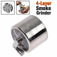 4-layer Smoke Grinder Aluminum Herb Tobacco Grinders Hand Crank Herbal AU Stock