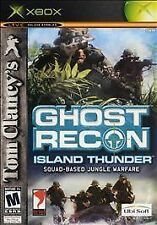 Tom Clancy's Ghost Recon: Island Thunder (Microsoft Xbox, 2003) - European...
