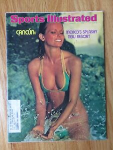 SWIMSUIT ISSUE Sports Illustrated CHERYL TIEGS 1/27/75 CANCUN Mexico's Resort