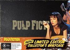 PULP FICTION (15TH ANNIVERSARY BRIEFCASE EDITION) New Movie DVD R4 = Samuel L Ja