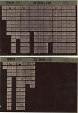 YAMAHA XV 1600_a _ Service Manual _ Microfich _ microfilm _'99