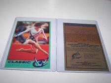 Rare Mary Lou Retton Classic Sports Network Card - Gymnastics USA ESPN Leifer