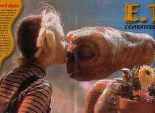 Q31 Poster del 2002 E.T. l'extraterrestre  formato 26 x 39 cm. circa