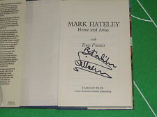 "Copie signée de' Home and Away ""livre par mark hateley Angleterre RANGERS MILAN AC"