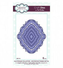 Creative Expressions CALIFORNIAN Decorative Frames B CED1104 by Sue Wilson