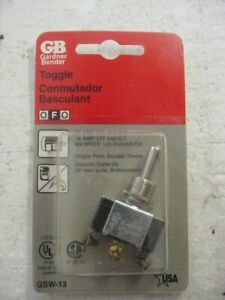 X5 GB Electrical Toggle Switch GSW-13 Special Use Single Pole Double Throw spdt