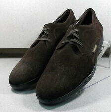 MNP629176SJ BROWN MMPF60 Men's Shoes Size 10.5 M Leather Suede Lace Up Mephisto