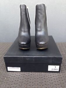 L.A.M.B. Diva Wedge Bootie Size 6. $395 NOW $95!