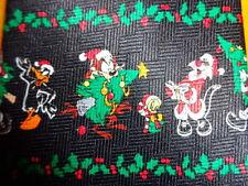 LOONEY TUNES ~  CHRISTMAS XMAS TIE NECKTIE ~  SANTA CLAUS SYLVESTER & TWEETY