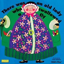 There Was an Old Lady Who Swallowed a Fly (Classic Books with Holes ... NEW BOOK