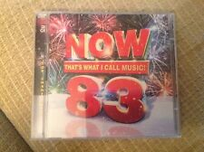NOW THAT'S WHAT I CALL MUSIC 83 - CD X 2 DISCS - 2012 - EX CON