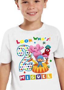 Pocoyo Birthday Shirt / Pocoyo Shirt / Pocoyo Party Supplies / Pocoyo Outfit
