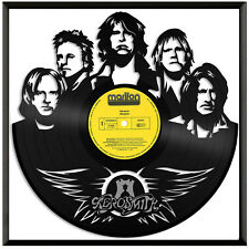 Aerosmith Vinyl Music Wall Art Record Gift Home Office Decoration Framed