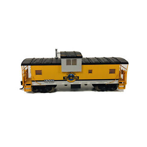 Atlas HO Rio Grande Caboose D&RGW # 01500 Freight Train Metal Wheels