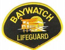 "NBC TV SERIES BAY WATCH LA LIFE GUARD JACKET 4"" PATCH"