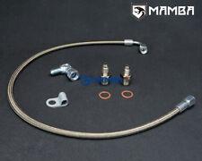 MAMBA Turbo Oil Feed Line Kit MAZDASPEED 3 6 CX-7 w/ Garrett GT28R GT29R GT30R