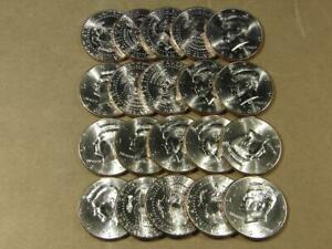 2009-P Kennedy Half Dollar Uncirculated Roll Of 20 Coins