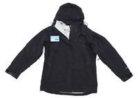 Preworn Mens Size M Black Raincoat