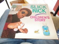 SLICK RICK - CHILDREN'S STORY LP