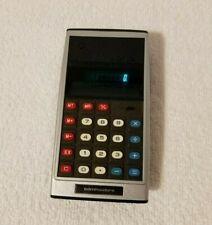 Vintage Commodore Custom Green Line GL-997R Calculator Rare (Tested Works)