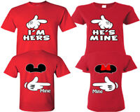 I'm Hers He's Mine Couple Shirts - Matching Shirts - His And Hers Shirts Tees