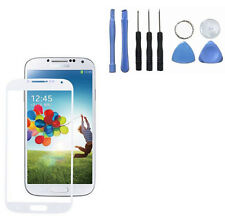 White Replacement LCD Screen Glass Lens+Tools For Samsung Galaxy S5 i9600 01S1