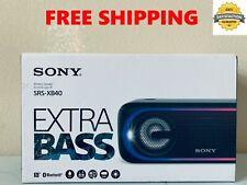 SONY SRS-XB40 Portal WIRELESS Bluetooth LIGHTS SPEAKER Extra Bass - FREE SHIP