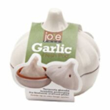 Garlic Fresh Pod Terra Cotta by Jo!E NEW saver keeper clove storage holder