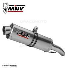 TRIUMPH DAYTONA 675 Exhaust MIVV Oval 2006-2012 Underseat